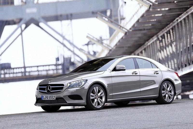 Mercedes-Benz CLA (od 04/2016) Standard
