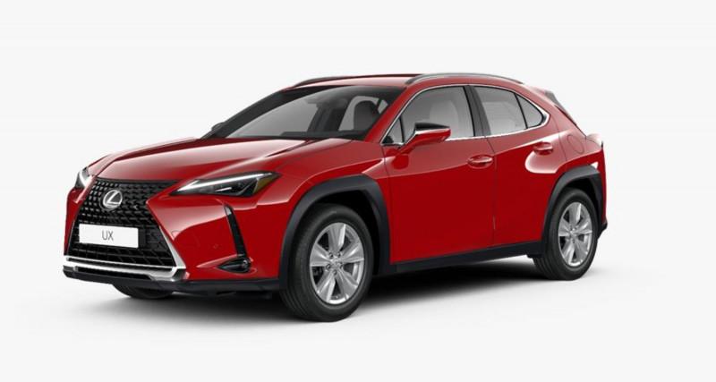 Lexus UX (od 01/2019) Comfort