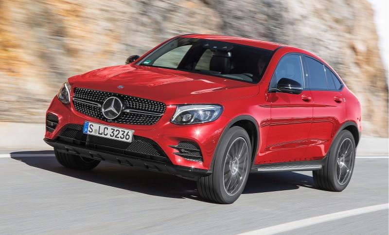 Mercedes-Benz GLC Coupé (od 06/2016) 4MATIC 9G-TRONIC