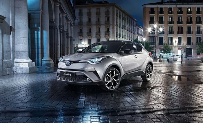 Toyota C-HR (od 10/2016) Active