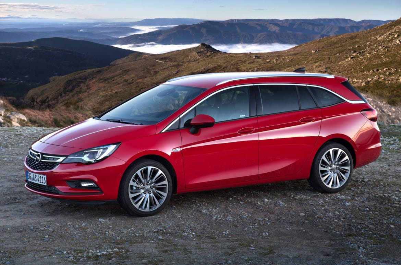 Opel Astra Sports Tourer 1.6 DI Turbo ecoFlex Start/Stop Dynamic Automatic