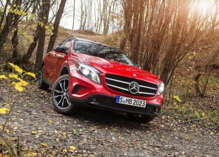 Mercedes-Benz GLA (od 01/2017) 2.1, 100 kW, Naftový, 4x4, Automatická převodovka