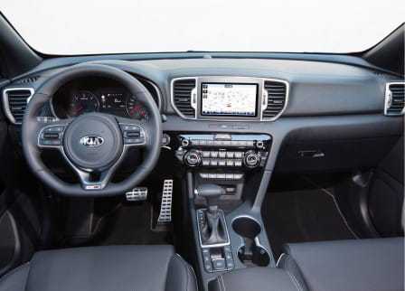 KIA Sportage 2.0 CRDi 136 Dream-Team AWD