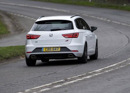 SEAT Leon ST Cupra (od 04/2017) 300, 221 kW, Benzinový, Automatická převodovka