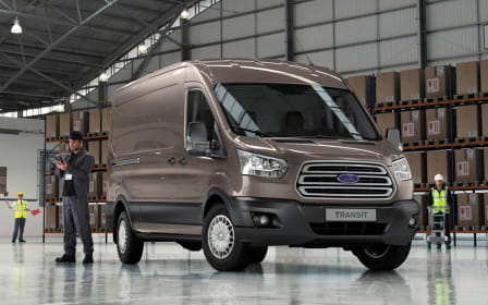 Ford Transit Connect (od 12/2013) 1.6, 70 kW, Naftový