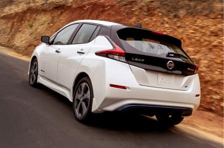 Nissan Leaf (od 01/2018) 40kWh, 110 kW, Elektrický, Automatická převodovka