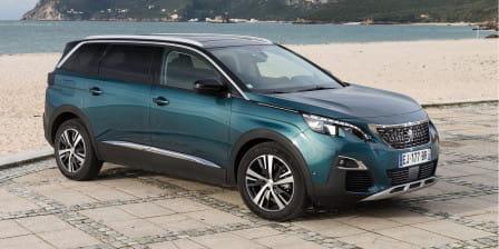 Peugeot 5008 (od 03/2017) 1.2, 96 kW, Benzinový, Automatická převodovka