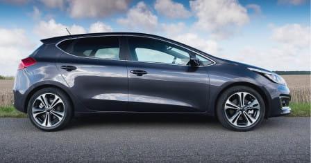 KIA cee´d (09/2015 - 06/2018) 1.6, 99 kW, Benzinový