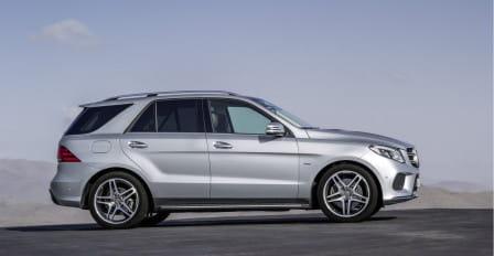 Mercedes-Benz GLE (od 08/2015) 400, 245 kW, Benzinový, 4x4, Automatická převodovka