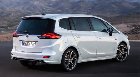 Opel Zafira C (od 06/2016) 1.6, 110 kW, Plynový