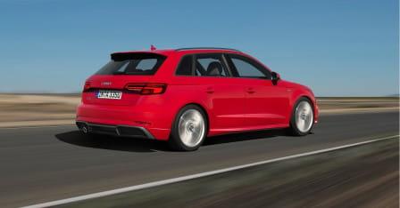 Audi A3 Sportback (od 07/2016) 2.0 TFSI, 140 kW, Benzinový, 4x4, Automatická převodovka