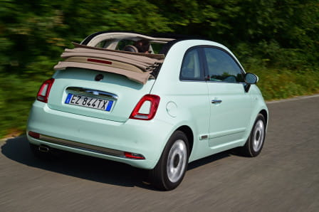 Fiat 500C (od 07/2015) 1.2 8V Eco, 51 kW, Benzinový