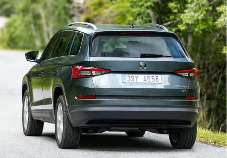 Škoda Kodiaq (od 03/2017) 1.4, 110 kW, Benzinový, 4x4