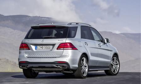 Mercedes-Benz GLE (od 08/2015) 500, 320 kW, Benzinový, 4x4, Automatická převodovka