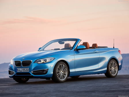 BMW 218d Cabrio Luxury Line Steptronic