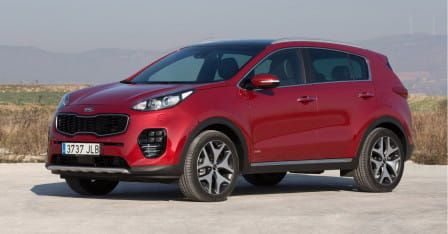KIA Sportage 1.7 CRDi 115 Dream-Team 2WD