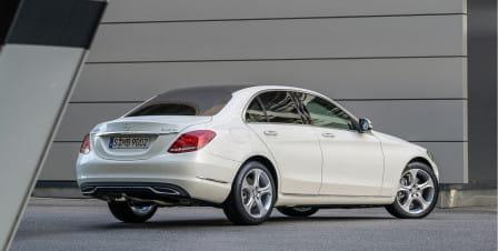 Mercedes-Benz Třída C Sedan (od 03/2014) 2.1, 125 kW, Naftový, 4x4, Automatická převodovka