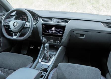 Škoda Octavia RS Combi (od 01/2017) 2.0, 169 kW, Benzinový