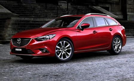Mazda 6 Kombi (od 02/2015) 2.2, 110 kW, Naftový