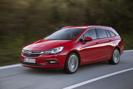 Opel Astra Sports Tourer (od 03/2016) 1.0, 77 kW, Benzinový