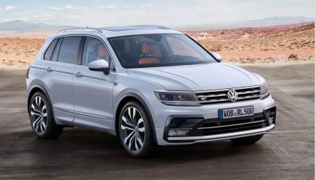 Volkswagen Tiguan (od 04/2016) 2.0 BMT, 132 kW, Benzinový, 4x4, Automatická převodovka