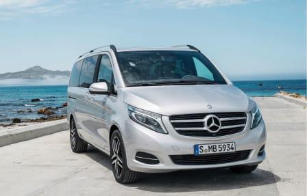 Mercedes-Benz Třída V (od 05/2014) 2.1, 100 kW, Naftový, 4x4, Automatická převodovka