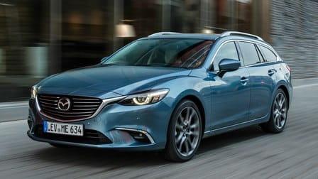 Mazda 6 Kombi (od 02/2015) 2.0, 121 kW, Benzinový, Automatická převodovka