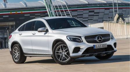 Mercedes-Benz GLC Coupé (od 06/2016) 2.1, 150 kW, Naftový, 4x4, Automatická převodovka