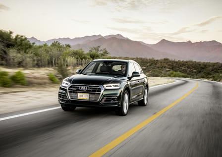 Audi Q5 (od 01/2017) 2.0 TFSI, 185 kW, Benzinový, 4x4, Automatická převodovka