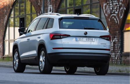 Škoda Kodiaq (od 03/2017) 2.0 TDI, 140 kW, Naftový, 4x4, Automatická převodovka