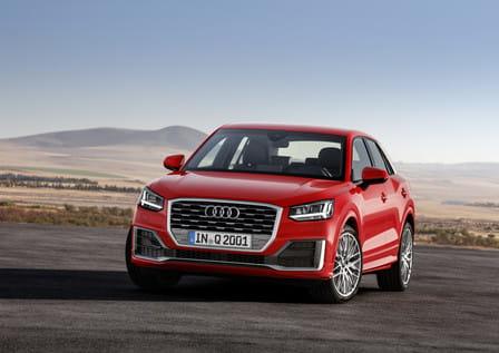 Audi Q2 (od 10/2016) 1.4 TFSI, 110 kW, Benzinový, Automatická převodovka