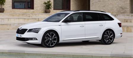 Škoda Superb Combi (od 09/2015) 2.0 TDI, 110 kW, Naftový, Automatická převodovka