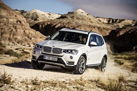 BMW X3 (od 04/2014) 3.0, 230 kW, Naftový, 4x4, Automatická převodovka