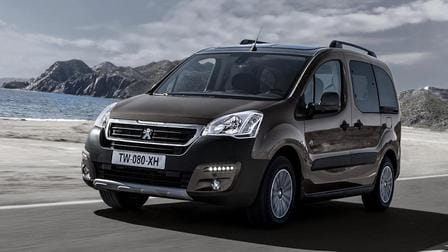 Peugeot Partner Tepee (od 04/2015) 1.6, 88 kW, Naftový
