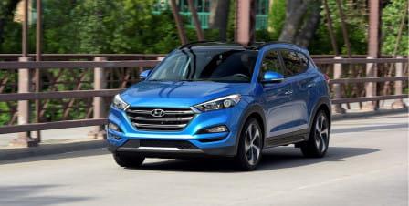 Hyundai Tucson (od 07/2015) 1.6, 130 kW, Benzinový