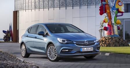 Opel Astra (od 10/2015) 1.6, 81 kW, Naftový