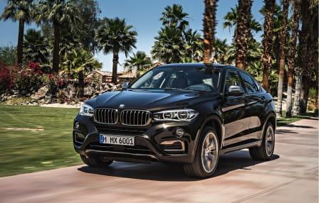 BMW X6 (od 08/2014) 3.0, 225 kW, Benzinový, 4x4, Automatická převodovka