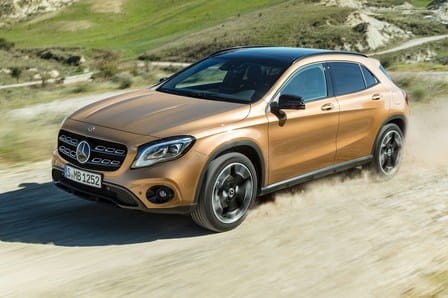 Mercedes-Benz GLA (od 01/2017) 2.1, 100 kW, Naftový, Automatická převodovka