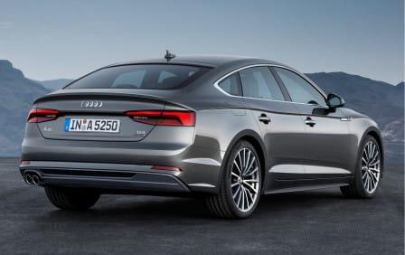 Audi A5 Sportback (od 10/2016) 2.0 TFSI, 185 kW, Benzinový, 4x4, Automatická převodovka