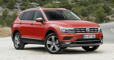 Volkswagen Tiguan Allspace (od 09/2017) 2.0, 110 kW, Naftový, 4x4