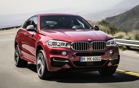 BMW X6 (od 08/2014) 3.0, 280 kW, Naftový, 4x4, Automatická převodovka