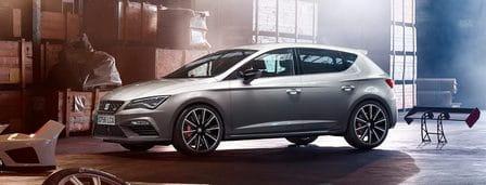 SEAT Leon Cupra (od 04/2017) 300, 221 kW, Benzinový, Automatická převodovka