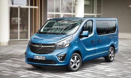 Opel Vivaro Combi (od 07/2014) 1.6 CDTI, 84 kW, Naftový