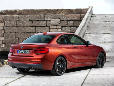 BMW 218d Coupé Luxury Line Steptronic