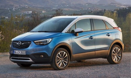 Opel Crossland X (od 06/2017)