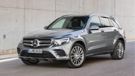 Mercedes-Benz GLC (od 09/2015) 2.1, 125 kW, Naftový, 4x4, Automatická převodovka