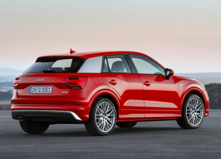 Audi Q2 (od 10/2016) 2.0 TDI, 140 kW, Naftový, 4x4, Automatická převodovka