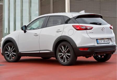 Mazda CX-3 (od 06/2015) 2.0, 88 kW, Benzinový, Automatická převodovka