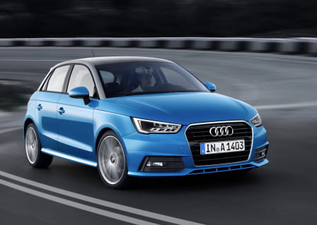 Audi A1 (od 11/2014) 1.4 TDI, 66 kW, Naftový