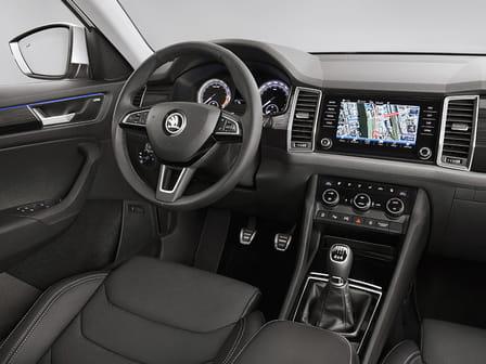 Škoda Kodiaq (od 03/2017) 1.5, 110 kW, Benzinový